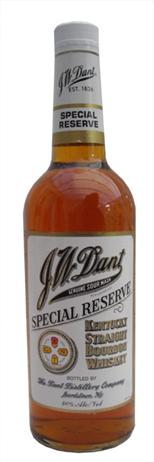 JW Dant Bourbon Bottled In Bond 100@